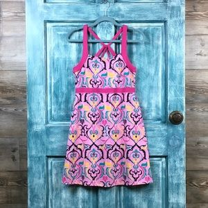 Soybu Athletic Dress/Colorful Pink/Shelf Bra/Med